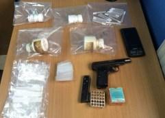 Συνελήφθησαν 4 άτομα για ναρκωτικά και όπλα