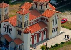 Μνήμη και τιμή του Αγίου Γρηγορίου του Θεολόγου και Θαυματουργού στο Ιερό Προσκύνημα της Νέας Καρβάλης
