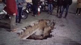 Κλείνει σήμερα η τρύπα στο δρόμο, στην παραλιακή της Καβάλας