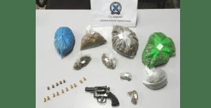 Συνελήφθη στην Καβάλα 54χρονος ημεδαπός κατηγορούμενος για διακίνηση ναρκωτικών και παράνομη οπλοκατοχή