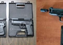 Συνελήφθησαν 7 ημεδαποί κατηγορούμενοι για παράβαση του νόμου περί όπλων