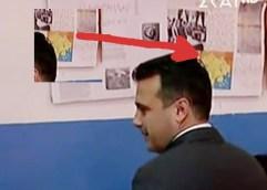 O  Ζόραν Ζάεφ ψήφισε για την συμφωνία στην σκιά του χάρτη της Μεγάλης Μακεδονίας