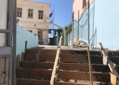 Εργολάβος κατέστρεψε ράμπα για ΑμεΑ σε σχολείο της Καβάλας