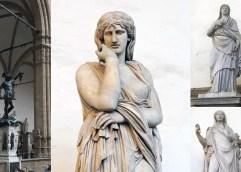 ΜΕ ΤΟ ΜΑΡΜΑΡΟ ΘΑΣΟΥ ΕΞΑΣΦΑΛΙΣΑΝ ΜΙΑ ΘΕΣΗ ΣΤΗΝ ΑΘΑΝΑΣΙΑ: Πέντε γλυπτά στην Piazza della Signoria