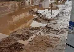 Θάσος: Δραματική η κατάσταση στο νησί λόγω της συνεχιζόμενης και έντονης βροχόπτωσης