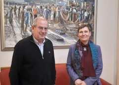 Επίσκεψη της γενικής προξένου της Γερμανίας στον Θόδωρο Μουριάδη