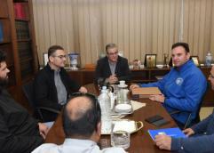 Με το ΔΣ του Σωματείου Εργαζομένων στη Βιομηχανία Φωσφορικών Λιπασμάτων Καβάλας συναντήθηκε ο Δ. Κουτσούμπας
