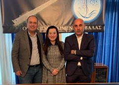 Μακάριος Λαζαρίδης: «12 + 1 έργα πνοής από την Ο.Λ.Κ. Α.Ε. αλλάζουν τα δεδομένα  για την Καβάλα και την Κεραμωτή»