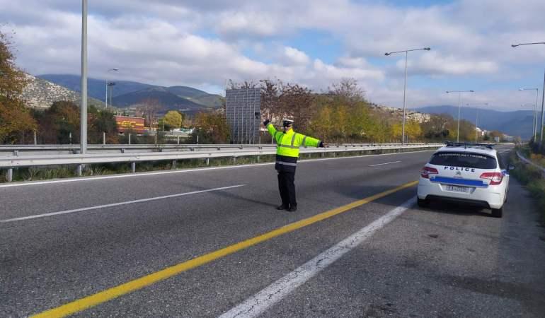 Συνελήφθη αλλοδαπός στην Εγνατία Οδό με κλεμμένο αυτοκίνητο