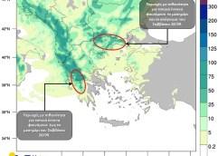 Ψυχρό μέτωπο κινούμενο γρήγορα ανατολικά, φέρνει ήδη μεγάλα ύψη βροχής στα δυτικά και κεντρικά της χώρας