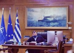 Σε προληπτική καραντίνα παραμένει ο υπουργός Εθνικής Άμυνας, Ν. Παναγιωτόπουλος. Ανάρτησή του στο twitter