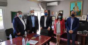 ΘΑΣΟΣ: Συνάντηση του Δημάρχου με τον Προέδρο του ΕΚΑΒ – ΚΕΠΥ
