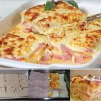 Εύκολη πίτα με ψωμί του τοστ