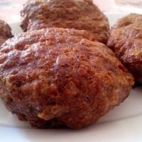 Τα πιο αφράτα και ζουμερά μπιφτέκια χωρίς ψωμί,χωρίς βρώμη
