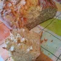 Τραγανό και πάνω από όλα σπιτικό ψωμάκι χωρίς ζύμωμα