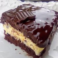 Εξαιρετική σοκολατόπιτα με βουτυρόκρεμα από ζαχαρούχο