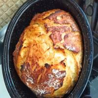 Ψωμί γάστρας σαν να ψήθηκε σε ξυλόφουρνο