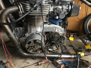 1979 Kick Only Wiring Diagram Help | Yamaha XS650 Forum