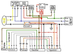 some wiring diagrams | Page 7 | Yamaha XS650 Forum