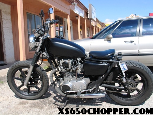 noid finished 1979 xs650 WICKED CHOICE CUSTOMS, Austin, Texas USA