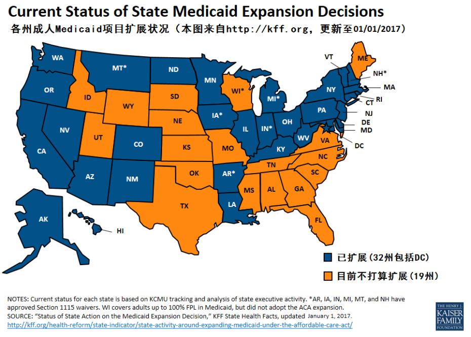 medicaid expansion status