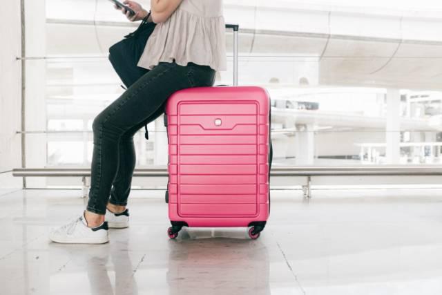 La valise de madame pour partir en vacances