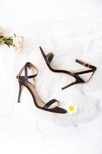 Chaussure à talon noir