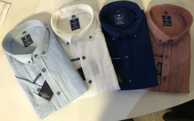 chemisette coton et lin grande taille