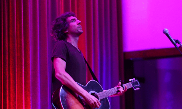 SNOW PATROLS GARY LIGHTBODY to play Solo Acoustic show in December: at Belfast's Waterfront