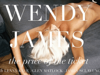 ALBUM REVIEW: WENDY JAMES - THE PRICE OF THE TICKET