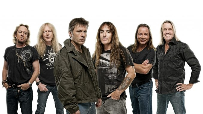 IRON MAIDEN: To Play The SSE Arena, Belfast: 2nd August 1