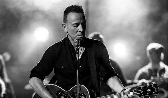 BRUCE SPRINGSTEEN releases performance video of new song 'Tucson Train' - Watch Now