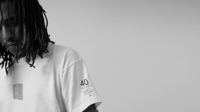 JOY DIVISION announce Goodhood 40th anniversary Unknown Pleasures capsule collection