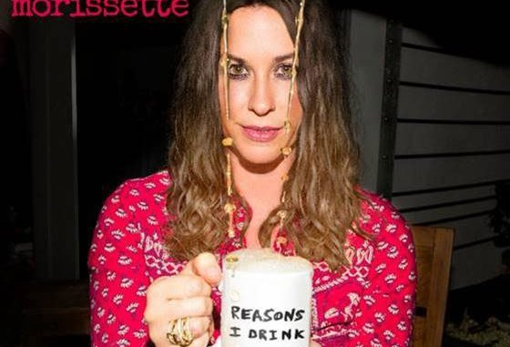 ALANIS MORISSETTE releases new single 'Reasons I Drink' - Listen Now