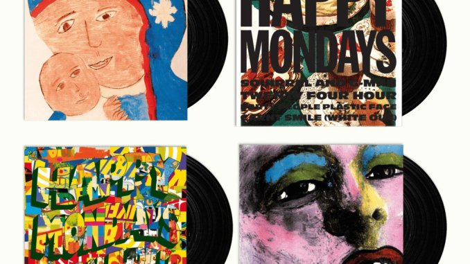 WIN: copies of HAPPY MONDAYS first four era-defining albums on vinyl 4