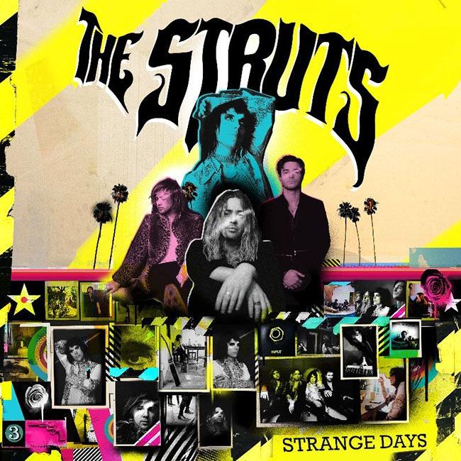 THE STRUTS & ROBBIE WILLIAMS release their stunning new single 'Strange Days'  - Listen Now | XS Noize | Online Music Magazine