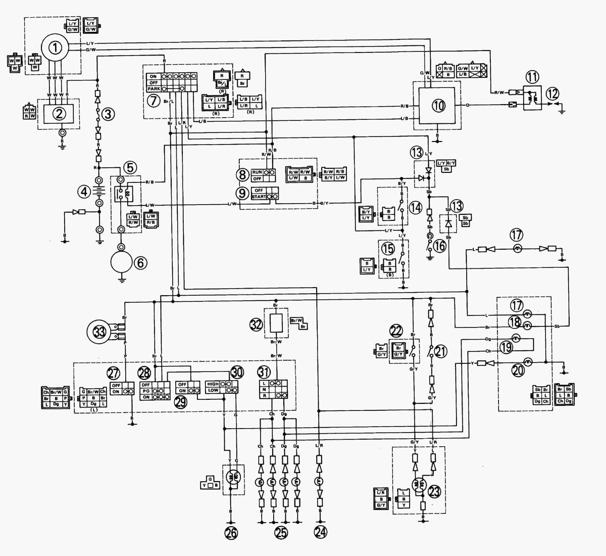 [DIAGRAM] Yamaha Yfs200 Blaster Wiring Diagram 1994 FULL