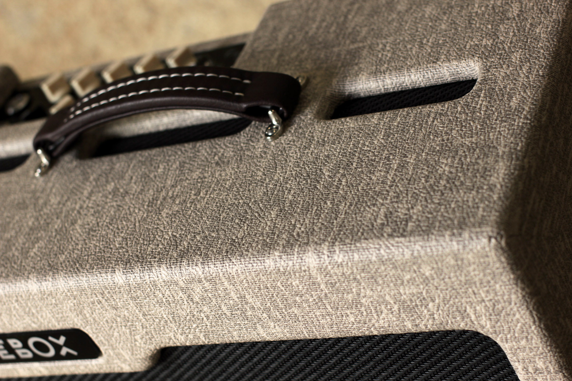 tolex, vox, handwired, hardwired, leather handle