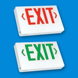 LED Exit Sign Red or Green