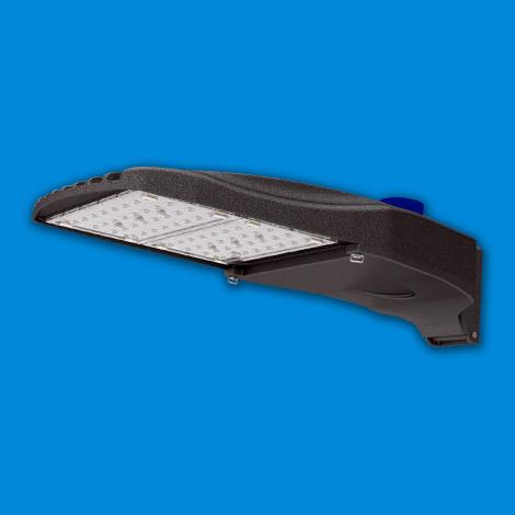 Viento Medium   Area & Site Lighting   Parking Lot Light   Shown With Optional Twistlock Receptacle