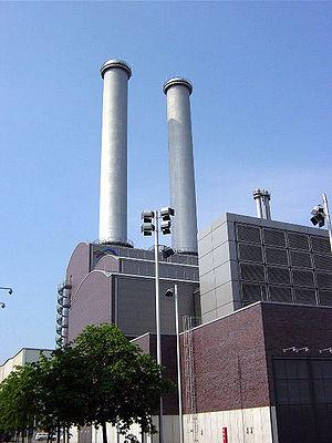 Heizkraftwerk Mitte.