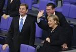 BERLIN - OCTOBER 28:  Chairman of the German F...