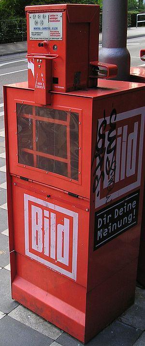 Bild Zeitungsautomat