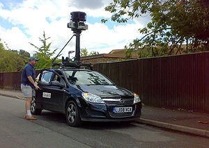Google Street View Car in Southampton, Hampshi...