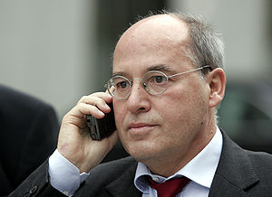 Gregor Gysi, left wing German politican and MP...