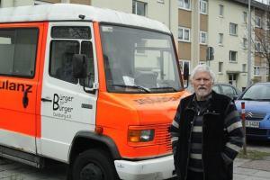 Leiter der Straßenambulanz Dr. Gerd Heimann