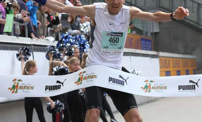 Sieger Christian Bröring vom TuS Lohne
