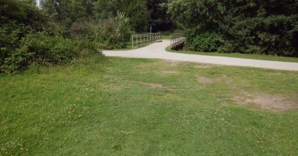 Brücke an der Emscher-Promenade - (c) Reinhard Matern