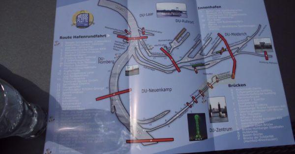 Schematische Karte der Häfen - (c) Reinhard Matern