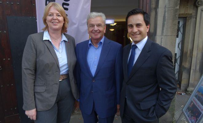 Bärbel Bas (MdB), Joachim Poß (MdB), Mahmut Özdemir (MdB)